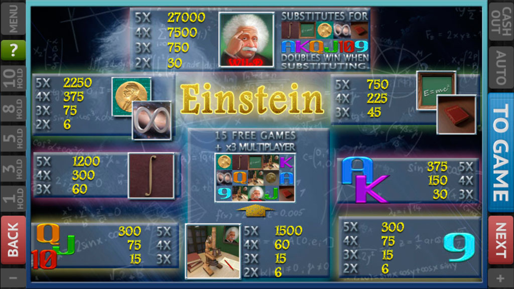 Albert Einstein screenshot 1