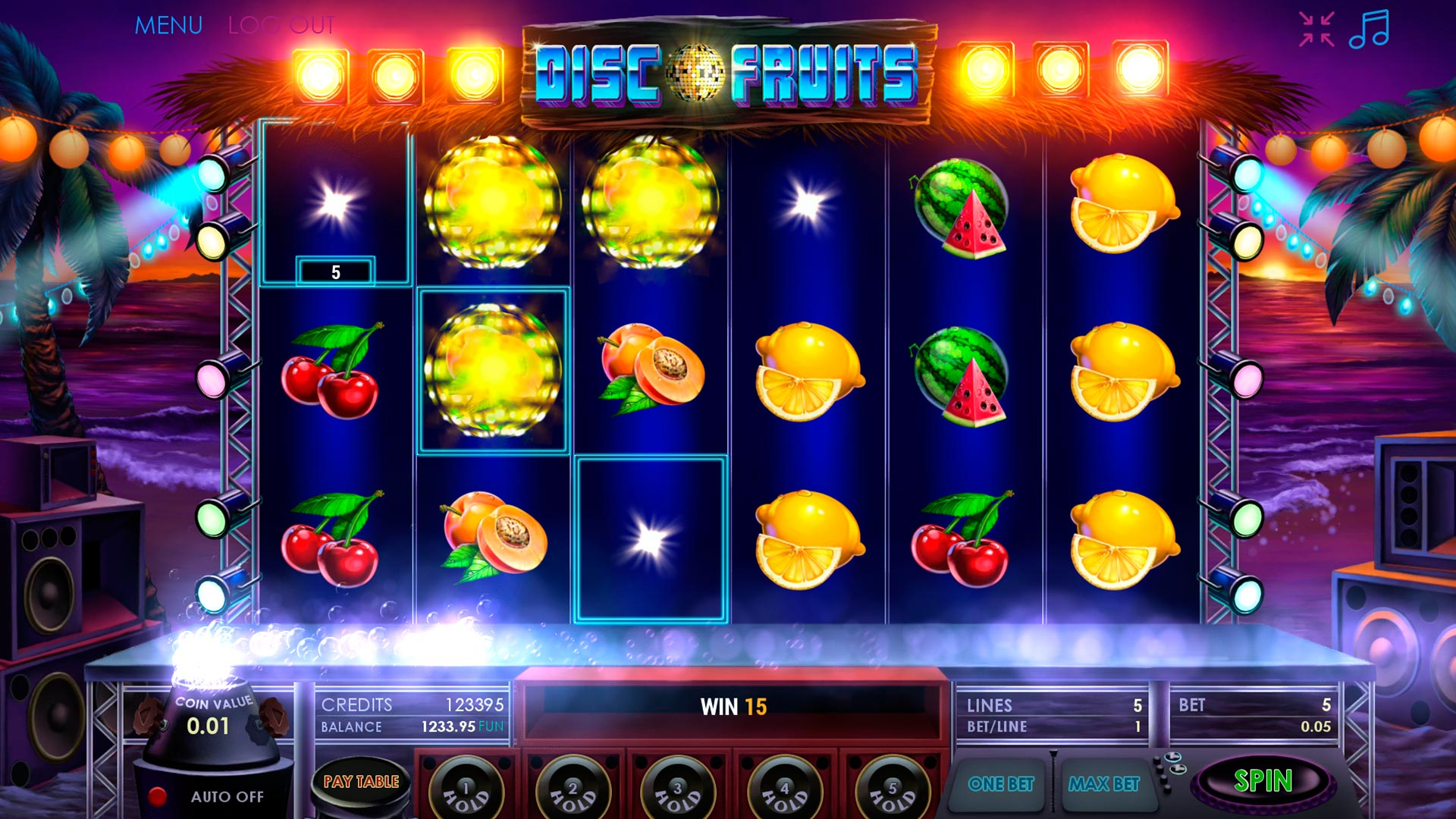 Disco Fruits screenshot 1