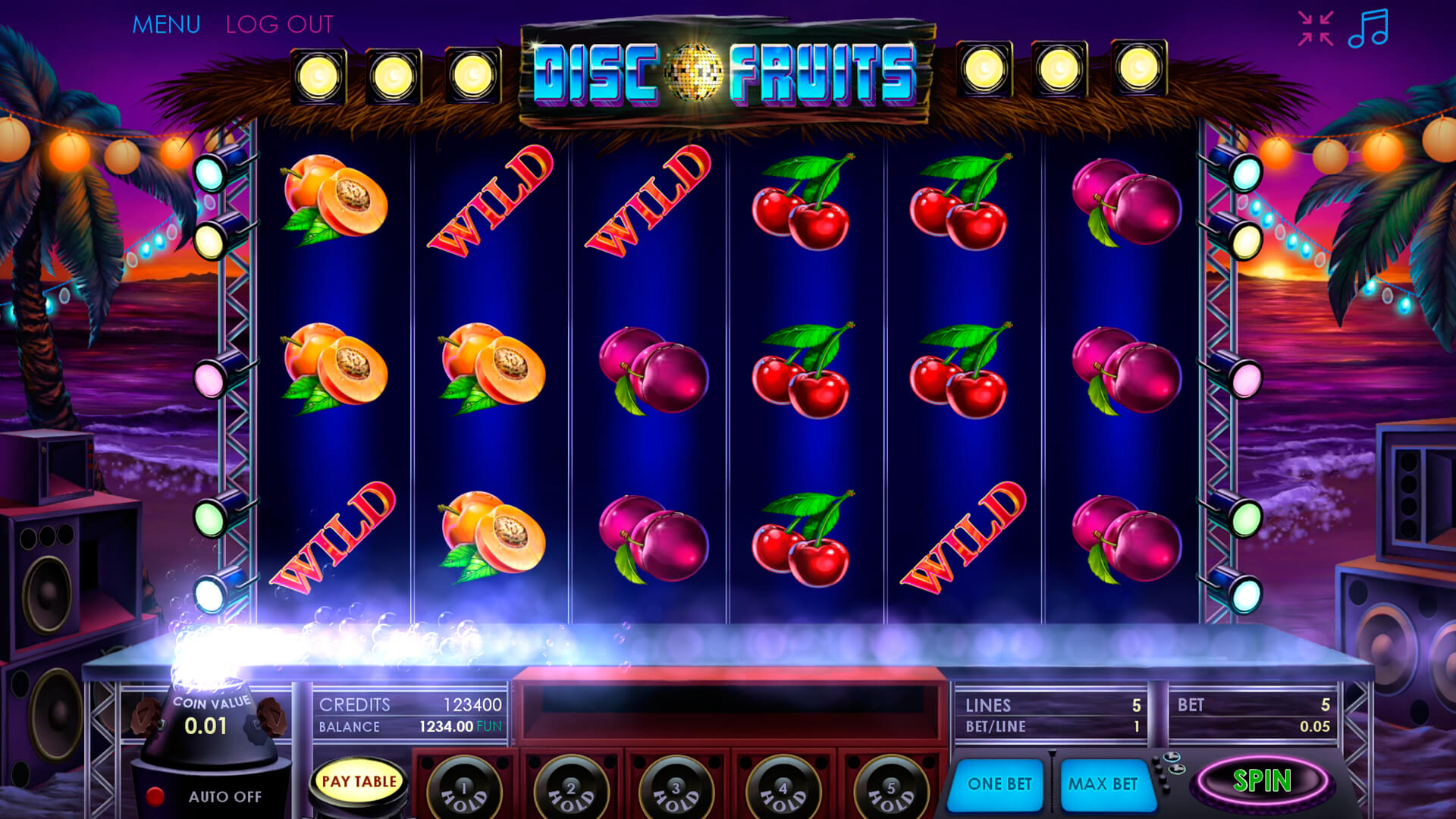 Disco Fruits screenshot 3