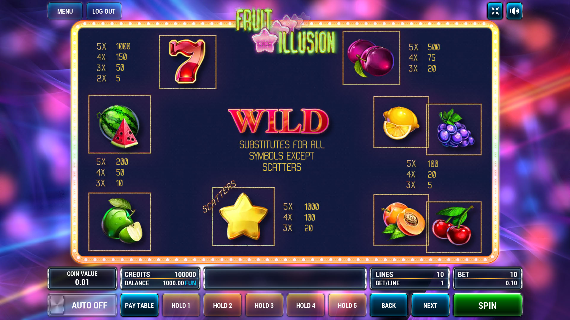 Fruit Illusion screenshot 3