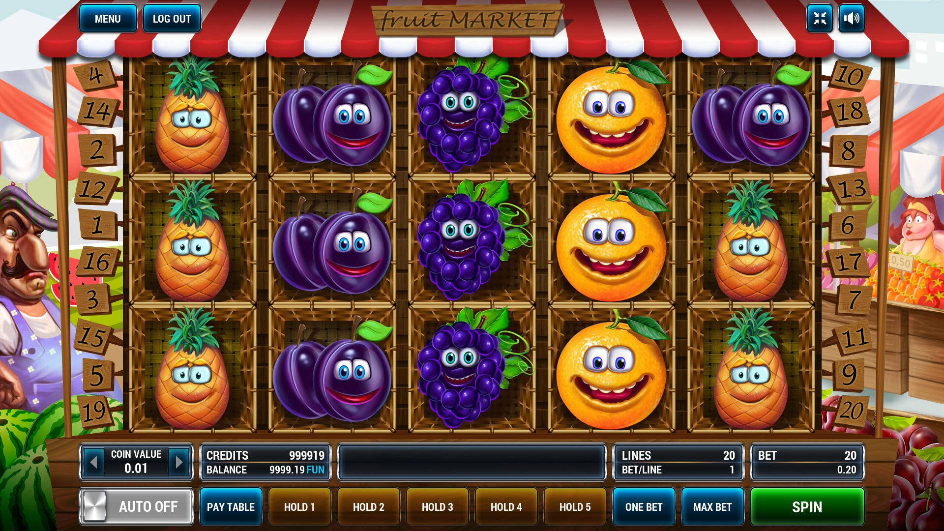 Fruit Market screenshot 2