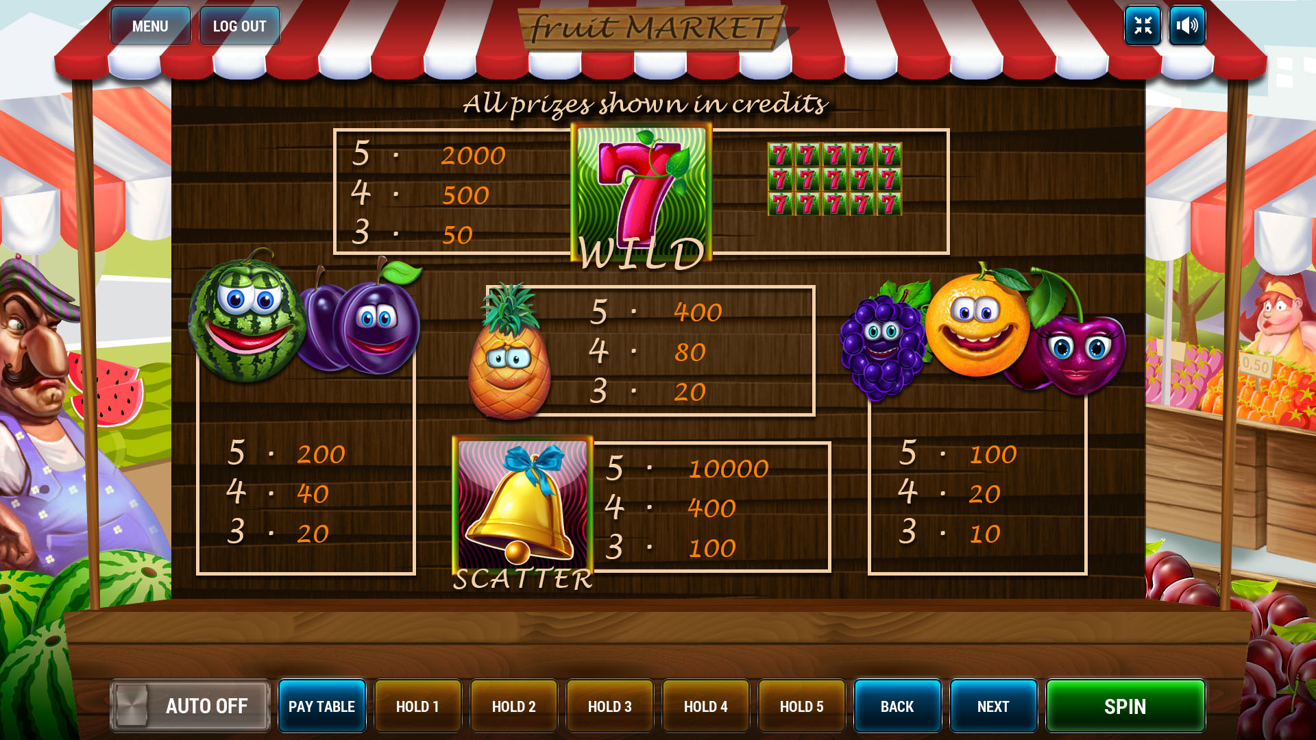 Fruit Market screenshot 3