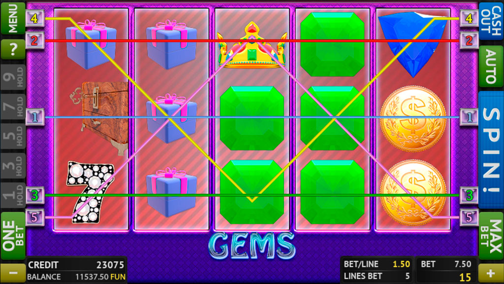 Gems screenshot 1