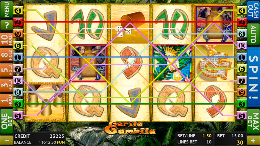 Gorila Gambila screenshot 1