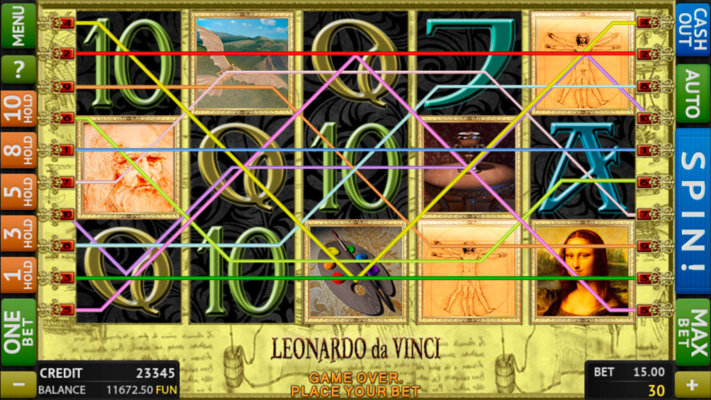 Leonardo Da Vinci screenshot 1