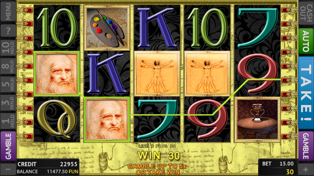 Leonardo Da Vinci screenshot 2