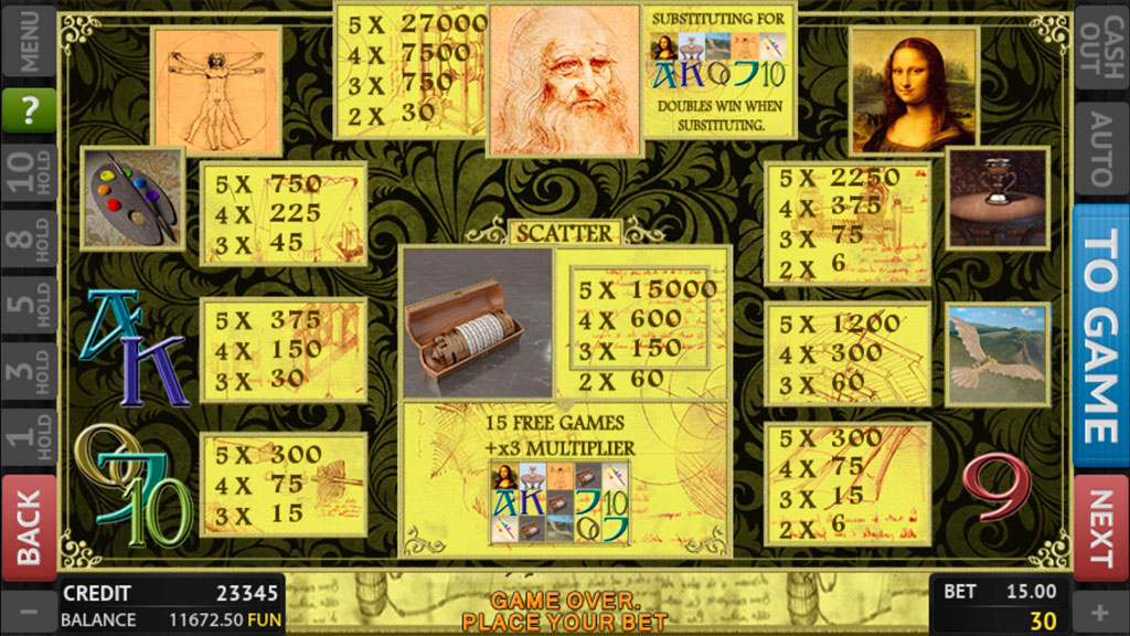 Leonardo Da Vinci screenshot 3