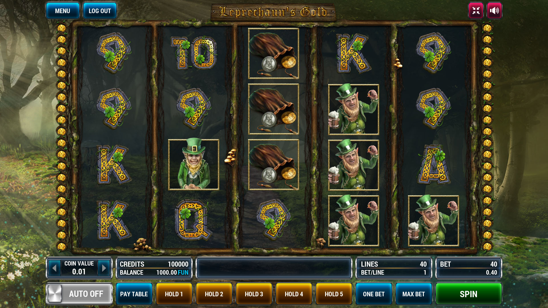 Leprechauns Gold screenshot 2