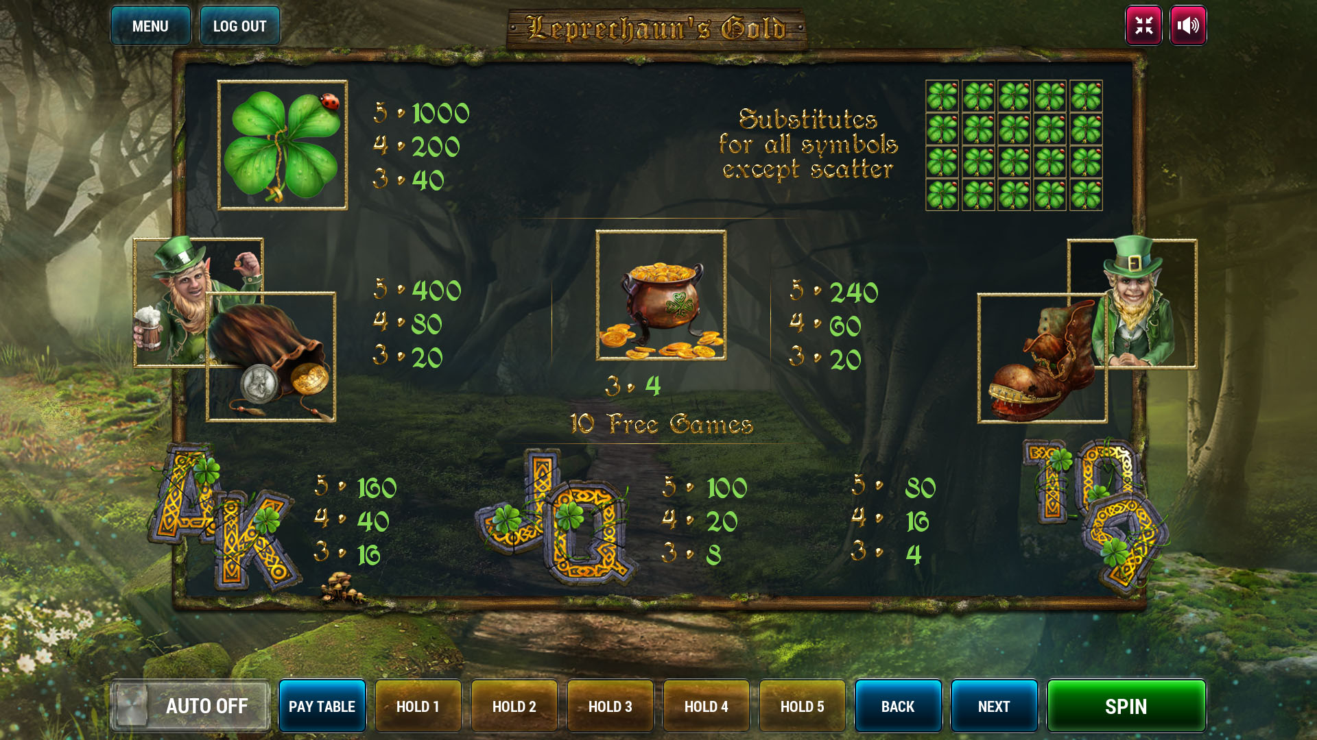 Leprechauns Gold screenshot 3