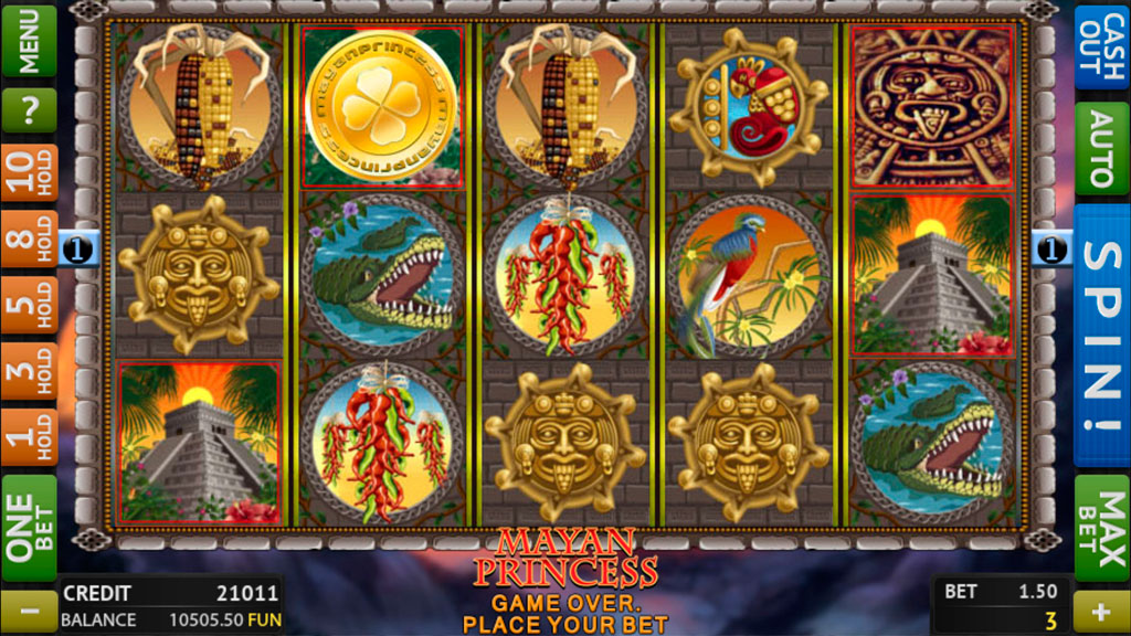 Mayan Princess screenshot 1