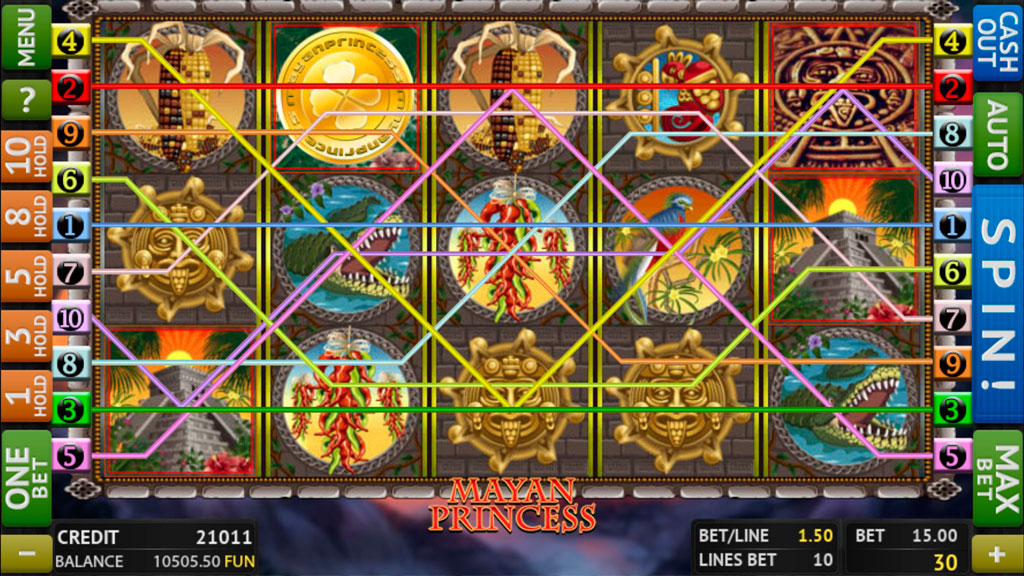 Mayan Princess screenshot 2