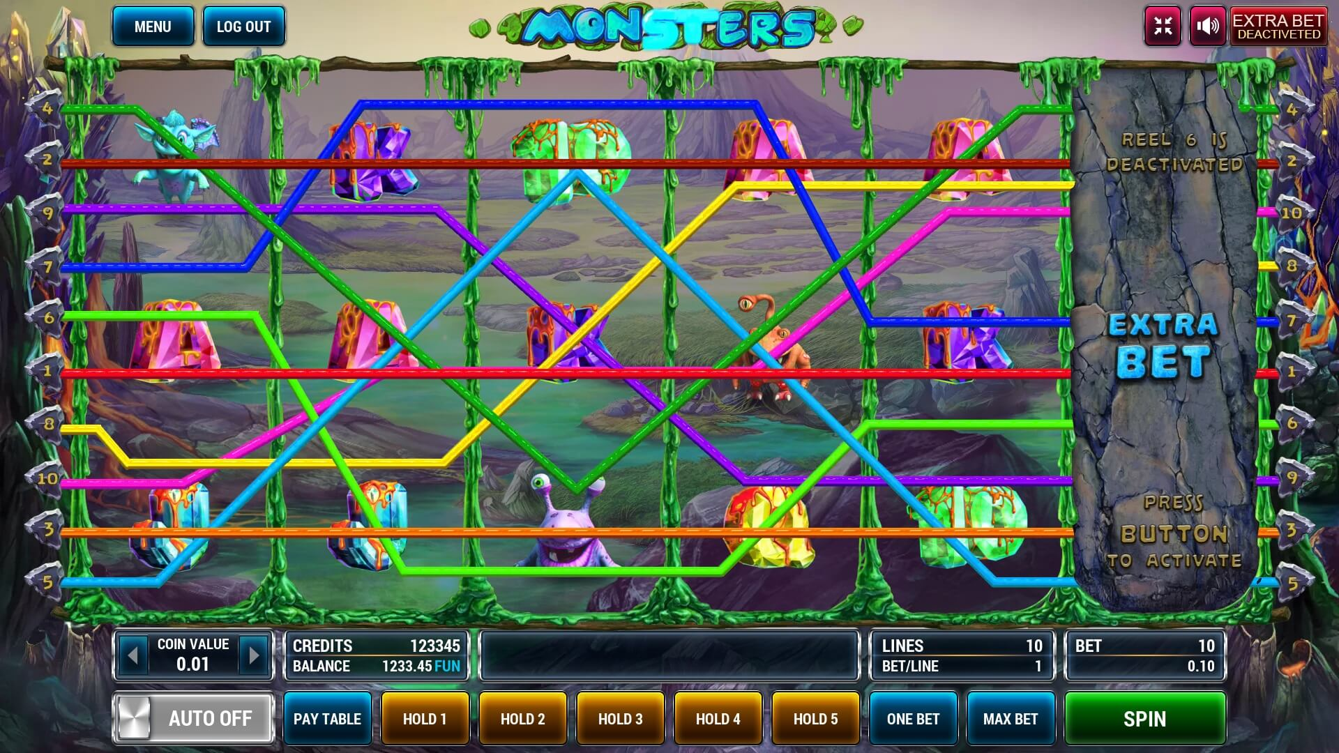 Monsters screenshot 1