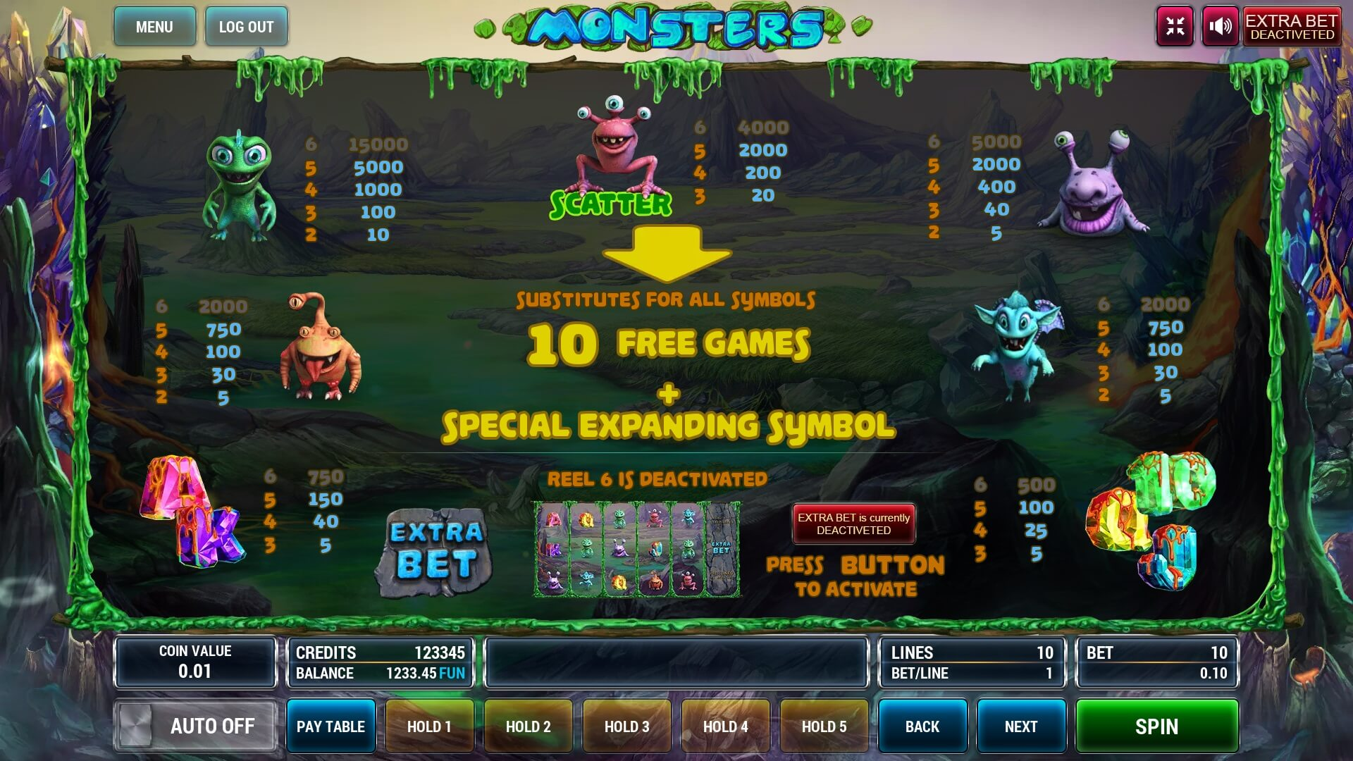 Monsters screenshot 3