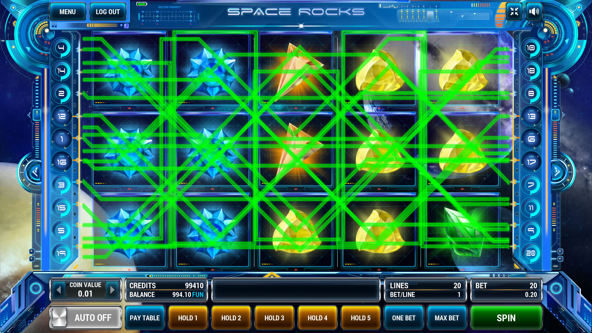 Space Rocks screenshot 1