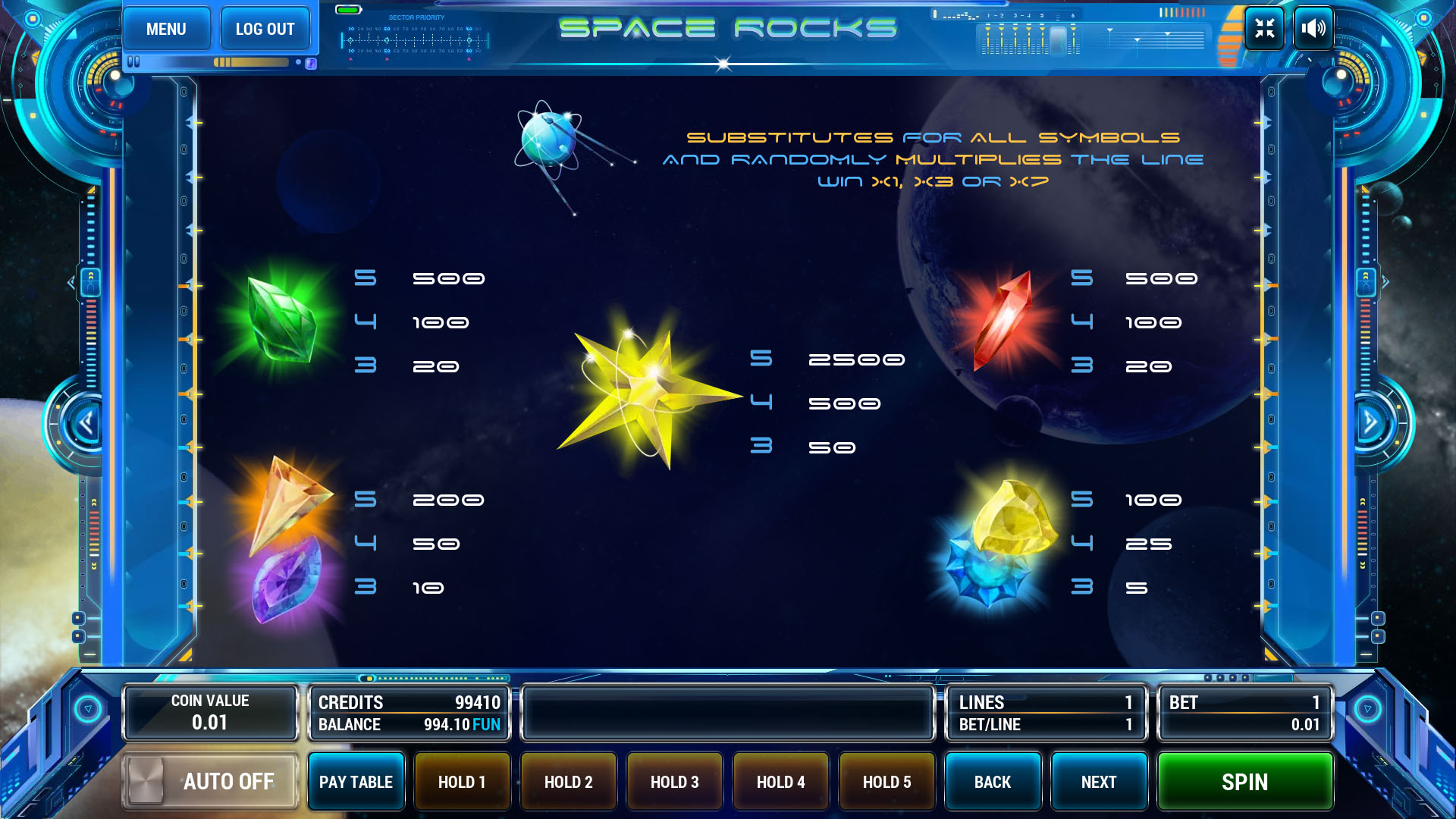 Space Rocks screenshot 3